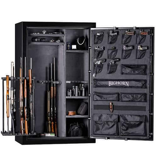 Best biometric rifle safe