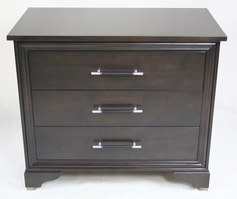nightstand with built in gun safe